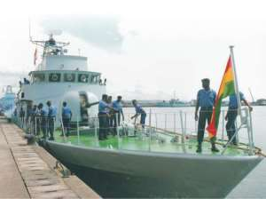 Pirates Are No Match For The Ghana Navy - Commodore