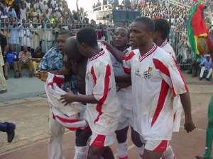 Black Stars  Humiliate  Bafana Bafana