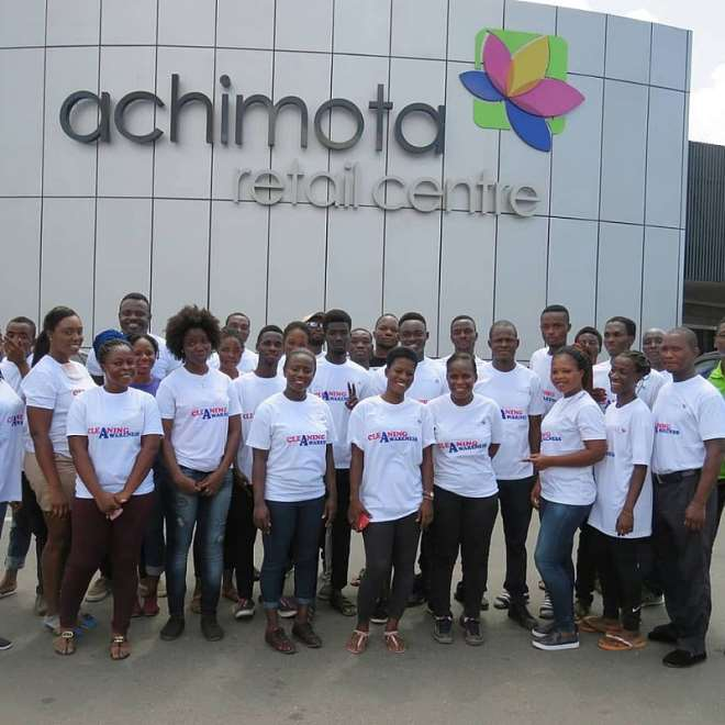 Management Staff And Some Trenants Of Arc After Cleanup