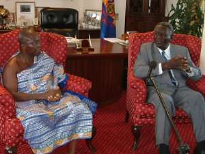 Show respect for office of the President - Asantehene