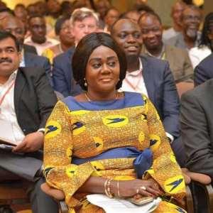 Hon. Lawyer(Mrs.) Barbara Oteng-Gyasi salutes workers on May Day.