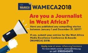 WAMECA 2018: Call For Entries