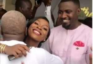 John Mahama Supports John Dumelo At His Wedding