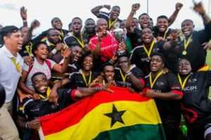 Ghana Eagles Wins 2018 Rugby Africa Bronze Cup