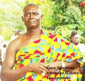 Nana Osei Kwadwo Reinstated Bekwai Omanhene