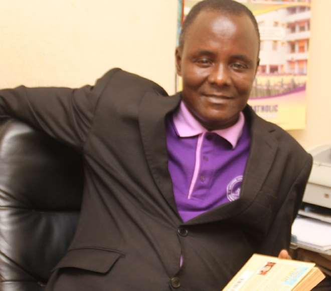 Ugochukwu Ejinkeonye at work