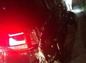 Presidential convoy involved in an accident; Deputy Chief of Staff injured