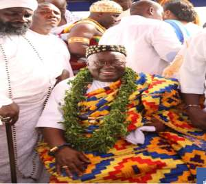 President Akufo-Addo was given the stool name Nii Kwaku Ablade Okogyeaman I