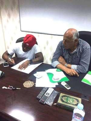 Former Kotoko striker Ben Acheampong joins Egyptian side Smouha SC