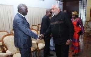 Rawlings Apologises To Kufuor, Mahama