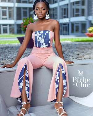 MissEvy's Clothing Line Unveils New Collection Dubbed, Peche et Chic Jumpsuit