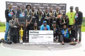 Nungua Coldstore Wins Maiden Betway Community Basketball Competition