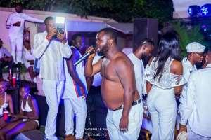 Nollywood Divas, Angela Okorie, Empress Njamah & others storm Abuja All White Pool Party