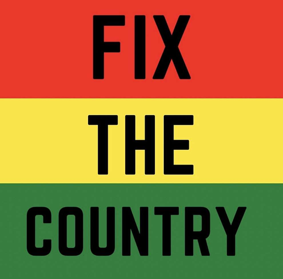 #FixTheCountry; Times Are Hard