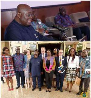 Nana Addo Calls For  More Women Into Entrepreneurship And Politics