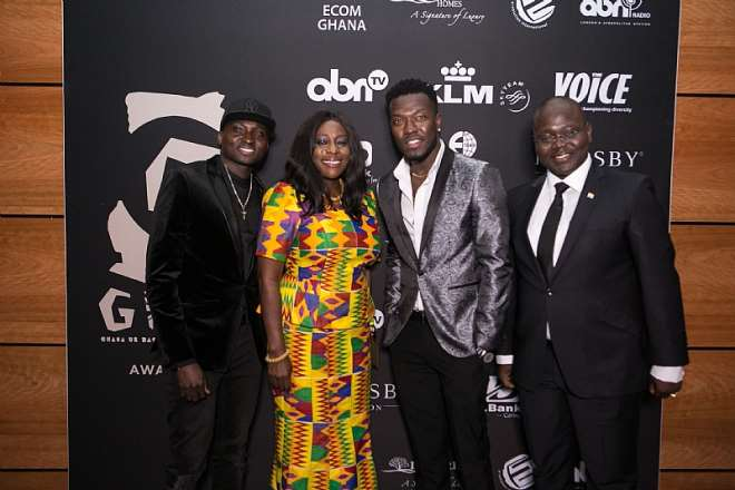 Hon Catherine Afeku With Reggie N Bollie