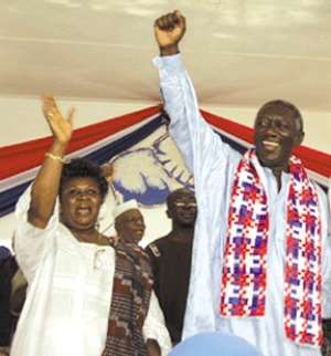 NPP's performance is monumental - President Kufuor