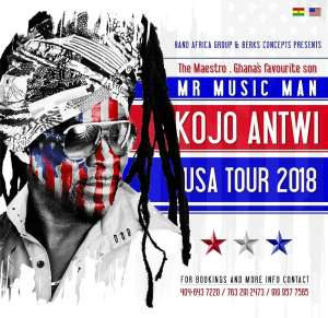 Highlife Legend Kojo Antwi To Tour USA