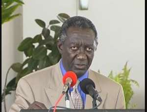 President Kufuor inaugurates 600 million-cedi school block
