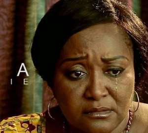 Actress, Ebella Okaro Drags Colleagues to Father-in-law's Burial