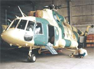 Armed Forces Take Delivery Of Modern Choppers