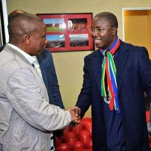 Mayor Jefferson T. Koijee Meets CIC Julius Malema