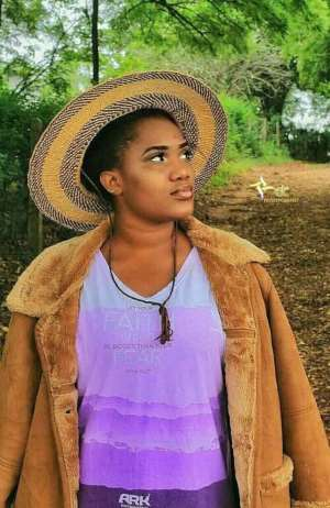 Get Familiar With Melly Thelma, Fast Rising Ghanaian Actress & Model