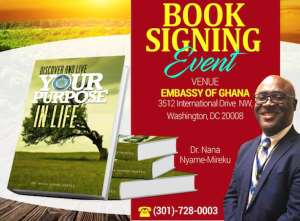 BOOK: Discover And Live Your Purpose In Life By Dr. Nana Nyame-Mireku