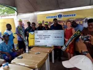 AMS, AHC Supports Citizens Inter-School Hockey Fiesta With GH¢29,000.00