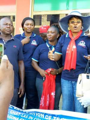 GNAT Ladies Undertakes Massive Clean Up Exercise At Agona Swedru