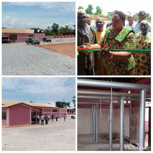 Sunyani MCE Hands Over New Abattoir To Butchers Association