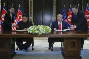 Kim Agreed With Trump To Complete Denuclearization