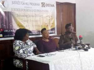 AWLA Unveils Toll Free/SMS For Remand Prisoners