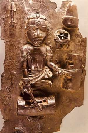 """Gold gleams throughout the Ashanti story: one wonders in retrospect whether the punitive expedition would have been quite so dedicated if the major product of Ashanti had been anything else but the potent lure."""" Russell Chamberlin. (11)"""