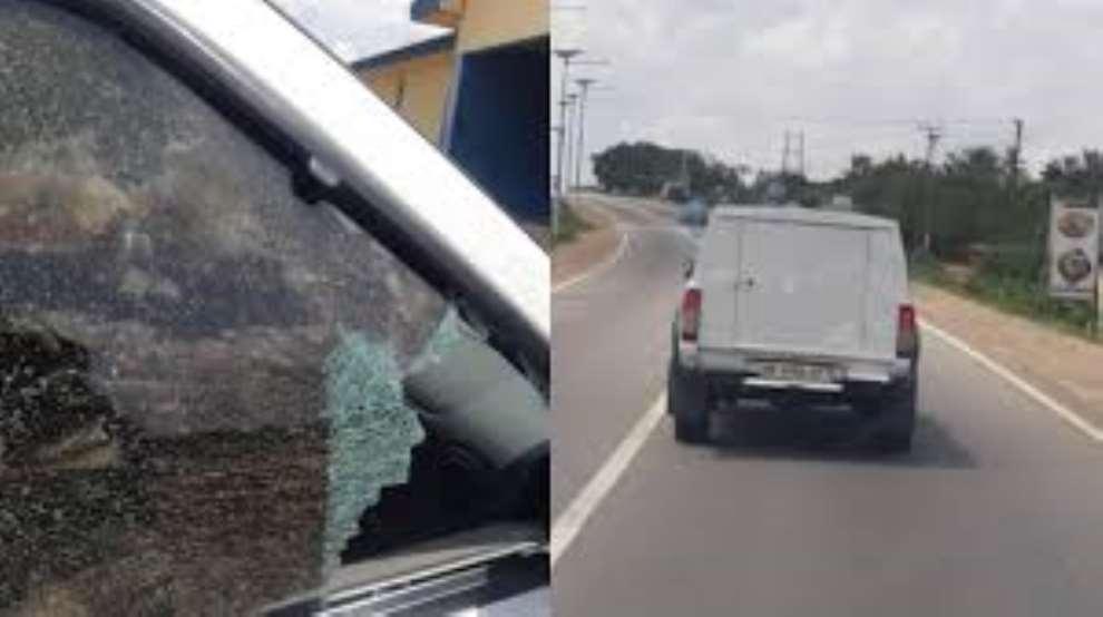 Winneba: Another bullion van attacked at Gomoa Okyereko