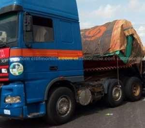 B/A: Tipper Truck Kills Pregnant Woman