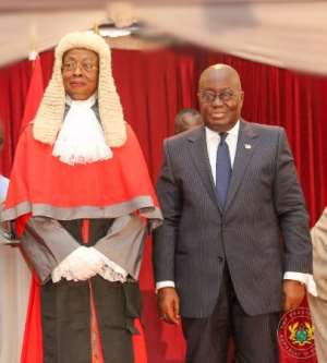 Full Text: Akufo-Addo's speech at CJ swearing in