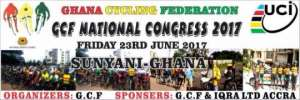 Cycling Championship and Congress to take place in Sunyani