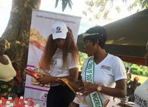 Queen Jennifer Okechukwu foundation empowers over 500 widows in Enugu( Photos)