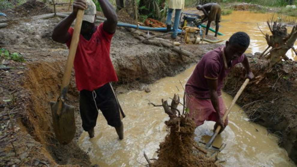 Galamsey activities back with new strategy in Dormaa Central - MCE laments