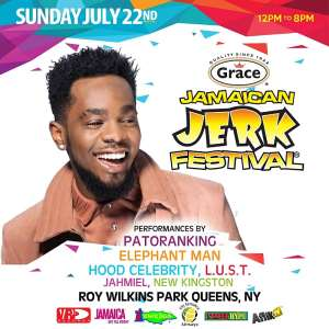 Patoranking To Perform At Grace Jerk Festival New York In Partnershipwith Aflik TV