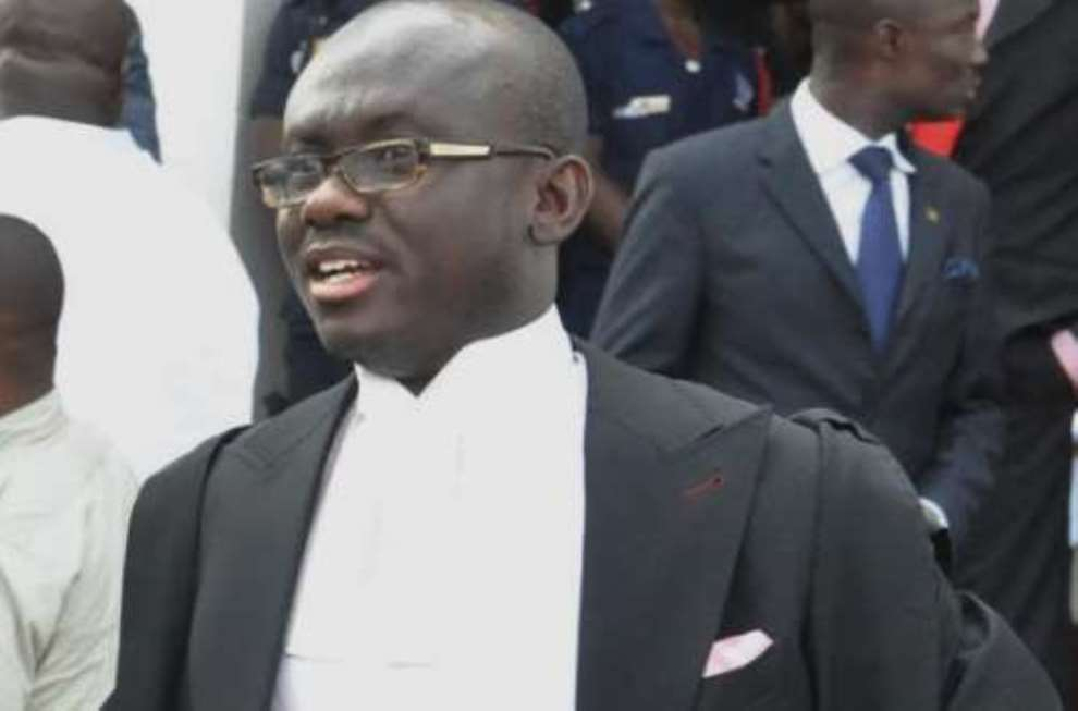 Attorney General and Minister of Justice, Godfred Dame