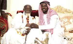 The National Chief Imam and the head of Zylofon