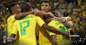 2018 Wrld Cup: Brazil Into Round Of 16 After Win Against Serbia