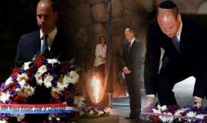 Prince William Visits Israel Holocaust Memorial In First Royal Visit
