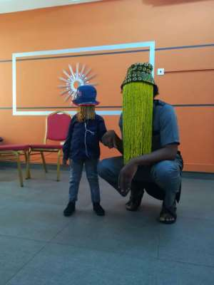 Schoolchild Who Dressed As Anas On Career Day Gets To Meet The Real Anas Aremeyaw Anas In Person