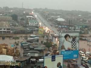 Kumasi Residents Displaced After Heavy Rainfall