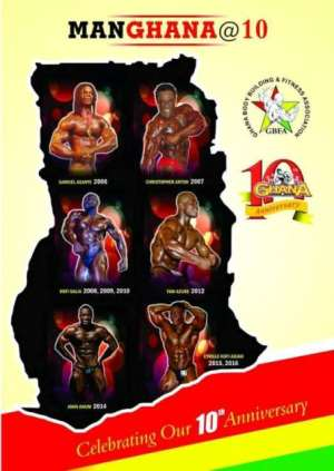 Bodybuilding and Fitness Association to celebrate 10th anniversary