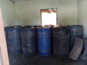 17 Drums Of Fuel Impounded At Bui