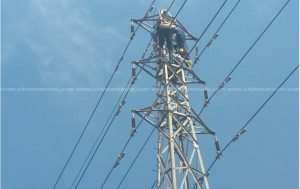 Man Found Dead, Electrocuted On ECG Tower
